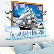 Romantiek Muurstickers 3D Muurstickers 3D Materiaal Huisdecoratie Muursticker