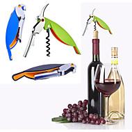 lidar com abridor de vinhos profissional parafuso portátil multifunções parafusos para garrafas de vinho ferramentas para cozinhar abridor de garrafas