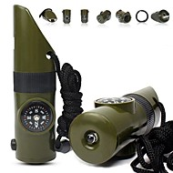 Whistle Fishing Climbing Camping/Hiking/Caving Camping & Hiking Trekking Outdoor Portable All-In-1 ABS 1 pcs