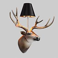 tanie Kinkiety Ścienne-Modern / Contemporary Lampy ścienne Na Żywica Światło ścienne 110-120V 220-240V 40W