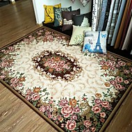 יְצִירָתִי מודרני שטח שטיחים פוליאסטר,איכות מעולה פרחוני שָׁטִיחַ