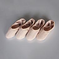 billige Ballettsko-Dame Ballett Bomull Splitt såle Innendørs Rosa Kan spesialtilpasses