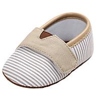 お買い得  ベビー用靴-女の子 靴 キャンバス 春 / 夏 コンフォートシューズ / ライト付きソール フラット のために ピンク / ライトブルー / カーキ色