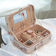 Sieradenorganizers Make-up opslag Jewelry Storage Box met Kenmerk is Voor Algemeen gebruik