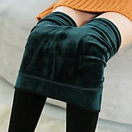 Dame Solid Ensfarvet Legging