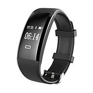 yy x4 smart armbånd vandtæt / kalorier brændt skridttællere motion record sport pulsmåler touch for ids android