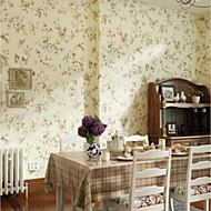 Blomstret Tapet til Hjemmet Klassisk Arkaistisk Tapetsering , U-vevet stoff Materiale selvklebende nødvendig bakgrunns , Tapet
