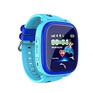 tanie Inteligentne zegarki-Inteligentny zegarek Ekran dotykowy Wodoszczelny Spalone kalorie Krokomierze Kontrola APP SOS Elektroniczne ogrodzenie Anti-lost