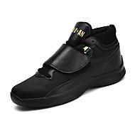 baratos Sapatos Masculinos-Homens Sapatos Confortáveis Tecido Primavera / Outono Tênis Basquete Branco / Preto / Branco / Preto