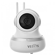 cheap Indoor IP Network Cameras-VESKYS® 1080P HD 2.0MP Wifi Security Surveillance IP Camera/Cloud Storage/Two Way Audio/Remote Monitor/Night Vision