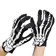 unisex halloween kostuum cosplay skelet schedel spook handschoenen
