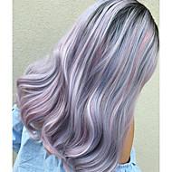 Uniwigs coco syntetisk blonder foran parykker blandet en obmre farve hår længde hår stil perle medium