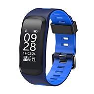 tanie Inteligentne zegarki-Inteligentne Bransoletka Ekran dotykowy Pulsometr Wodoszczelny Spalone kalorie Krokomierze Śledzenie odległości Pomiar ciśnienia krwi