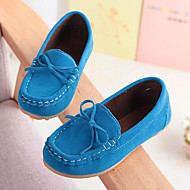 cheap Boys' Shoes-Boys' Shoes Suede Summer Moccasin Comfort Loafers & Slip-Ons Bowknot for Casual Party & Evening Yellow Fuchsia Brown Blue Wine