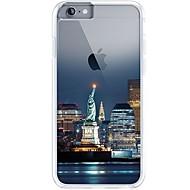 用途 iPhone 7 iPhone 7 Plus ケース カバー 超薄型 クリア パターン バックカバー ケース シティビュー ソフト TPU のために Apple iPhone 7プラス iPhone 7 iPhone 6s Plus iPhone 6 Plus