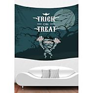 tanie Dekoracje ścienne-Święto Dekoracja ścienna Poliester Halloween Wall Art, Ścienne Gobeliny Dekoracja