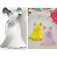 billige Bakeredskap-Bakeware verktøy Rustfritt Stål + A-klasse ABS / rustfritt Barn / Non-Stick / baking Tool Kake / Til Småkake / for Frukt Cake Moulds 1pc