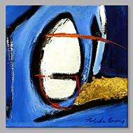 halpa -Maalattu Abstrakti Neliö, Taiteellinen Kangas Hang-Painted öljymaalaus Kodinsisustus 1 paneeli