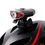 billige Sykkellykter og reflekser-Sykkellykter Frontlys til sykkel sikkerhet lys Belysning sykkel glødelamper LED LED Sykling Bærbar Profesjonell Justerbar Høy kvalitet