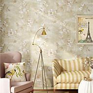 Blomstret Tapet til Hjemmet Klassisk Tapetsering , U-vevet stoff Materiale selvklebende nødvendig bakgrunns , Tapet