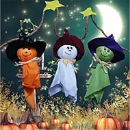 Decorações de Halloween, bandeira, boneca, cordão, bonito, puxar, assar, feriado, enfeites de natal