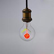 1pcs g80 rose e27 dekorative lyspære glødelampe aerolux stil jul til hjem lampada ac220v