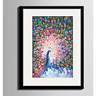 billige Innrammet kunst-Dyr abstrakt Innrammet Lerret Innrammet Sett Veggkunst,PVC Materiale med ramme For Hjem Dekor Rammekunst Stue Kjøkken Spisestue Soverom