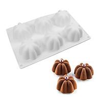 billige Bakeredskap-Bakeware verktøy Silikon baking Tool / 3D / Kreativ Kjøkken Gadget Dagligdags Brug / Kake / For kjøkkenutstyr Cake Moulds 1pc