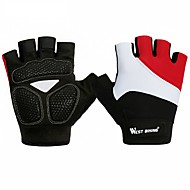 WEST BIKING® Sports Gloves Bike Gloves / Cycling Gloves Lightweight / Quick Dry / Breathable Fingerless Gloves Cloth / Lycra Spandex Road Cycling / Leisure Sports / Cycling / Bike Unisex