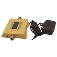 mini intelligent lcd display cdma980 850mhz mobiltelefon signal booster repeater gul