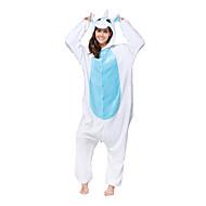 Χαμηλού Κόστους Toys and Hobbies Clearance-Πιτζάμα Kigurumi Unicorn Πιτζάμα Onesie Στολές Φλις Μπλε Cosplay Για ζώο Πυτζάμες Κινούμενα σχέδια Απόκριες Γιορτές / Διακοπές