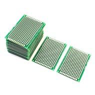 preiswerte Andere Teile-10pcs doppelseitige Protoboard Prototyping Leiterplatte 4cm x 6cm
