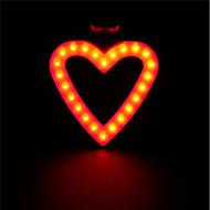 billige Sykkellykter og reflekser-Sykkellykter Belysning Baklys til sykkel sikkerhet lys Baklys LED LED Sykling Bærbar Justerbar Høy kvalitet Fort Frigjøring Lettvekt