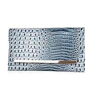 baratos Clutches & Bolsas de Noite-Mulher Bolsas Couro Ecológico Bolsa de Mão Estampa para Casual Todas as Estações Azul Preto Vinho