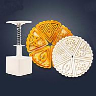 billige Bakeredskap-Bakeware verktøy Plastikker baking Tool / Kreativ Kjøkken Gadget / Jul Pai / For kjøkkenutstyr / Til Brød 6pcs