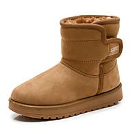 男の子 靴 繊維 冬 ファッションブーツ フラフライニング スノーブーツ ブーツ ミドルブーツ 用途 カジュアル ブラック キャメル