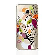 halpa -Etui Käyttötarkoitus Samsung Galaxy S8 Plus S8 Läpinäkyvä Kuvio Takakuori Kukka Pehmeä TPU varten S8 Plus S8 S7 edge S7 S6 edge plus S6