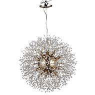 Globe Chandelier For Living Room Dining Room Study Room/Office AC 100-240V Bulb Included