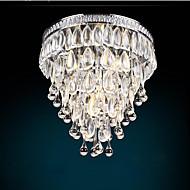 billige Taklamper-4-Light Takplafond Omgivelseslys - Krystall, Mini Stil, Pære Inkludert, 110-120V / 220-240V, Varm Hvit / Kald Hvit, Pære Inkludert