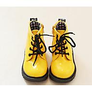 tanie Obuwie dziewczęce-Dla dziewczynek Obuwie PU Jesień / Zima Comfort Buciki na Yellow / Niebieski / Różowy