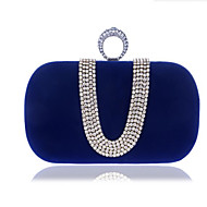 cheap Bags-Women's Bags Polyester Clutch Buttons Blue / Black / Purple