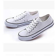 Men's Shoes Canvas Spring Fall Light Soles Sneakers For Casual Blue Red Black White