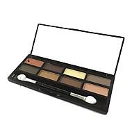 Χαμηλού Κόστους Σκιές Ματιών-8 Χρώματα Σκιές Ματιών / Πούδρες Χωρίς Οινόπνευμα Φυσικό Machiaj Zilnic Μακιγιάζ Καλλυντικό / Λαμπύρισμα