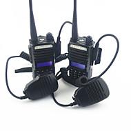 walkie-talkie qualidade rádio militar ultra-claro qualidade de som com lanterna elétrica um par de vestido