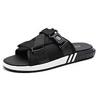 Heren Schoenen Ademend Gaas Zomer Comfortabel Sandalen Voor Causaal Zwart