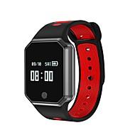 tanie Inteligentne zegarki-Inteligentny zegarek YY QW11 na iOS / Android / iPhone Pulsometr / Spalone kalorie / Długi czas czuwania / Ekran dotykowy / Wodoszczelny Czasomierz / Krokomierz / Rejestrator aktywności fizycznej