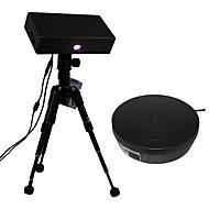 thunk3d 20cm scanbereik zwarte witte 3d scanner (nauwkeurigheid tot 0,04mm)