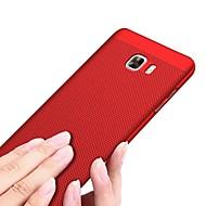 Etui Til Samsung Galaxy Syrematteret Bagcover Helfarve Hårdt PC for J7 Prime J7 (2016) J7 J5 Prime J5 (2016) J5 J3 (2016) J2 Prime J2 C9