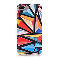 billiga Mobil cases & Skärmskydd-fodral Till Apple iPhone X iPhone 8 Frostat Mönster Skal Geometriska mönster Hårt PC för iPhone X iPhone 8 Plus iPhone 8 iPhone 7 Plus