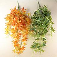billige Kunstige blomster-1 Gren Polyester Planter Bordblomst Kunstige blomster